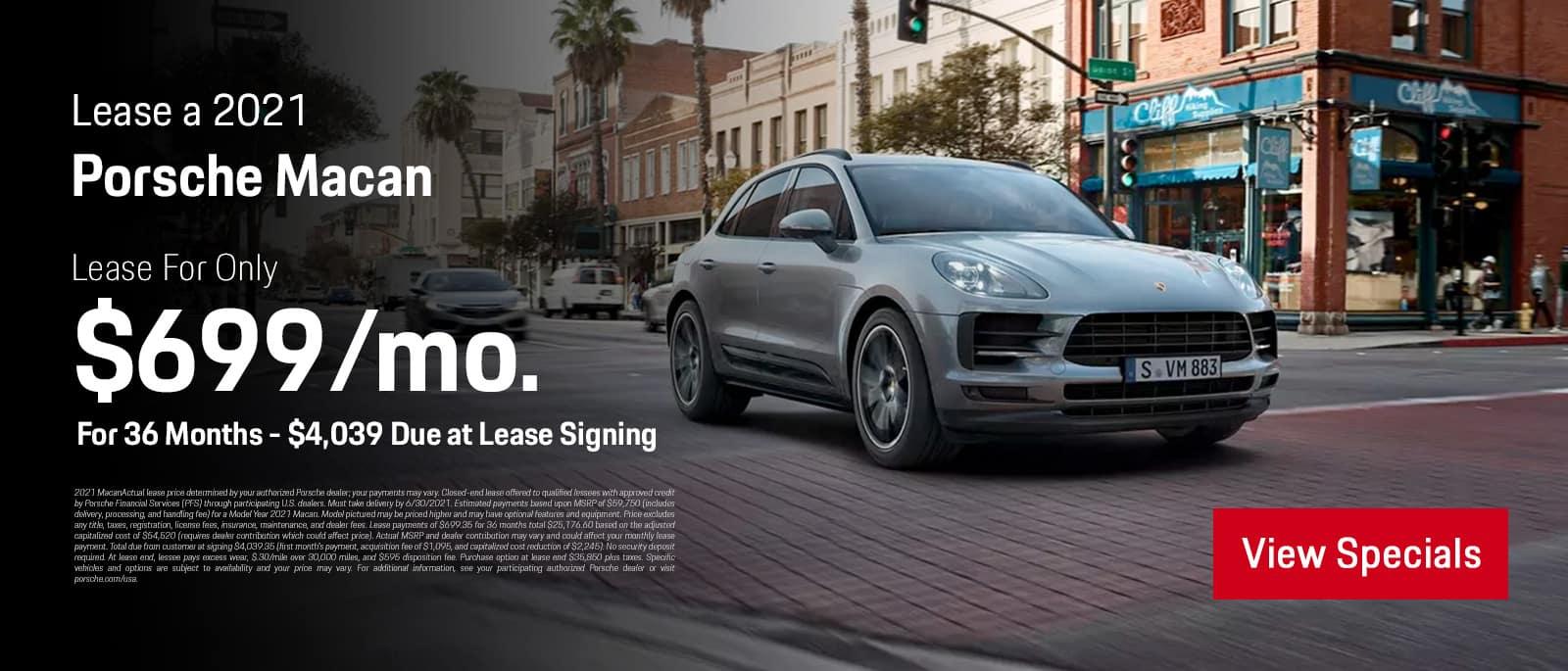 2021 Porsche Macan Special