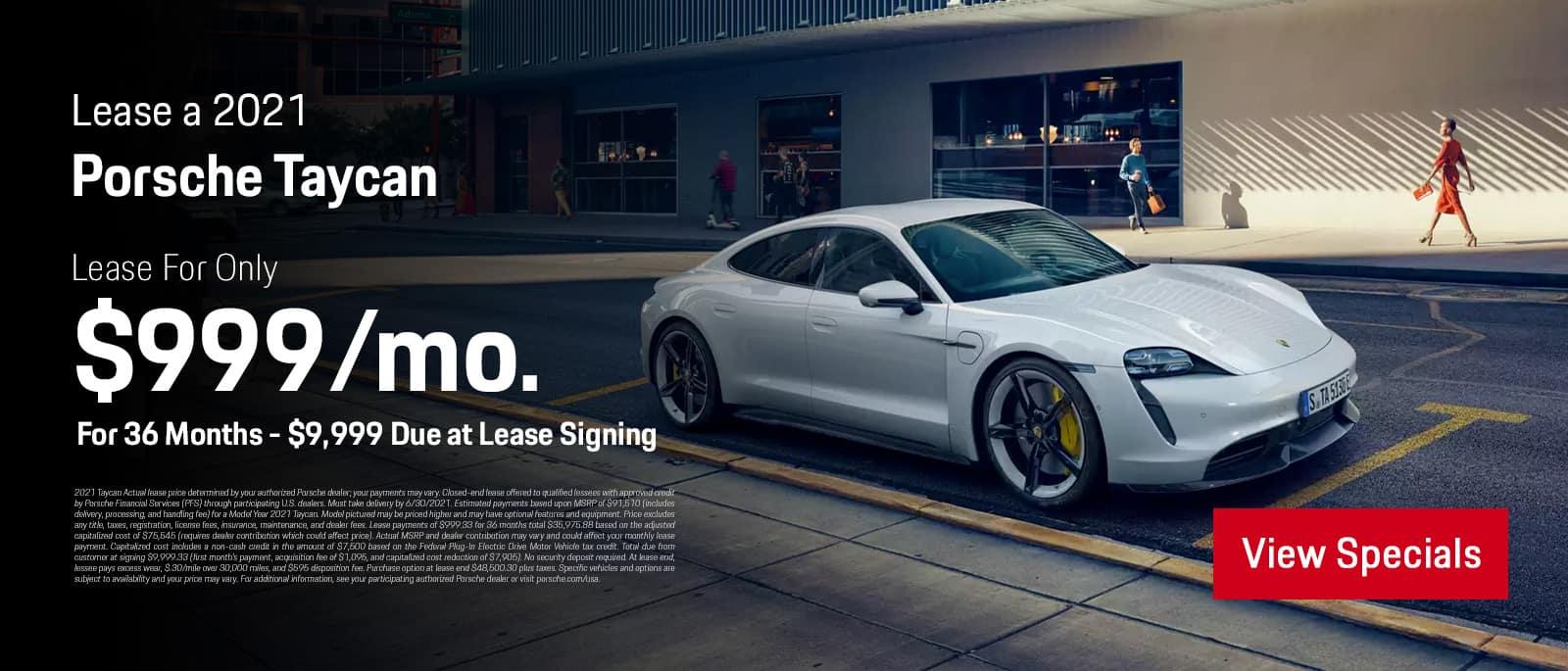 Porsche Taycan 2021 Specials