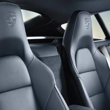 2019 Porsche 718 Cayman Seating