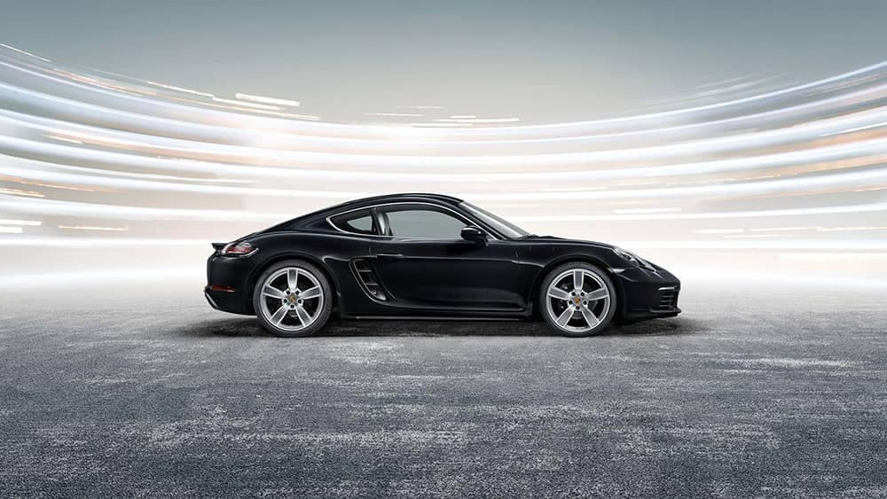 2019 Porsche 718 Cayman Side View