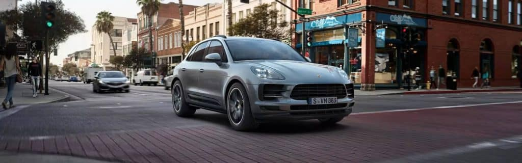 2020 Porsche Macan In The City