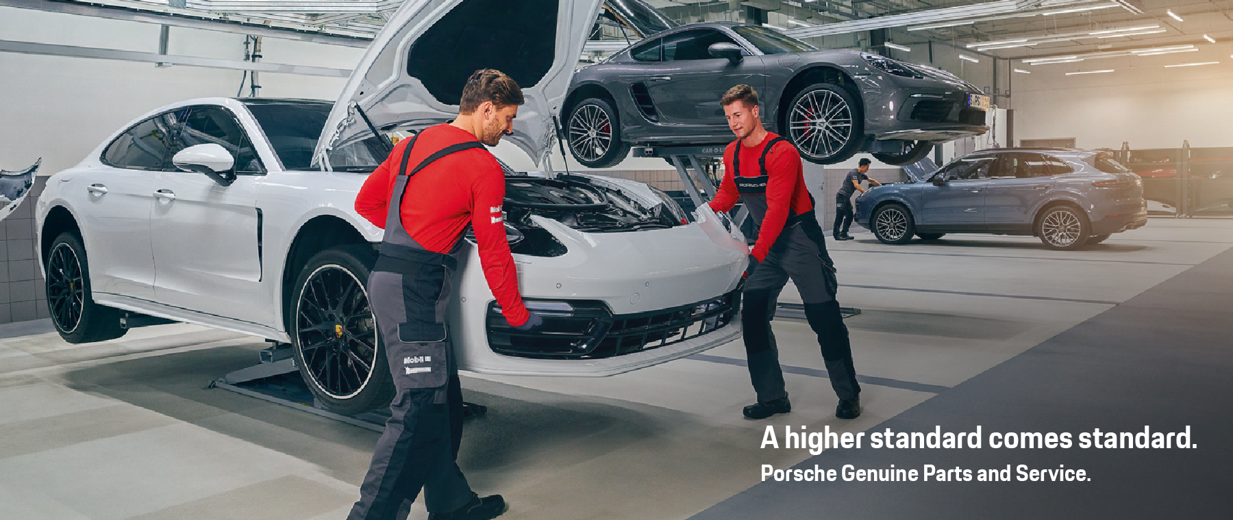 Porsche Genuine Parts and Service