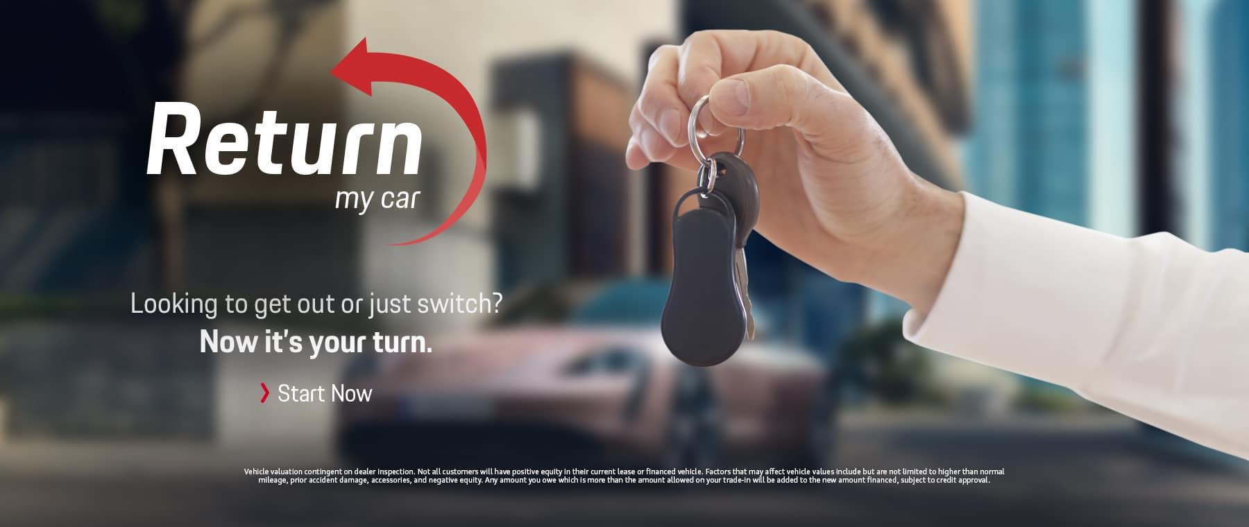 Return my car POW