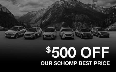Through November 28 - $500 Off The Schomp Best Price