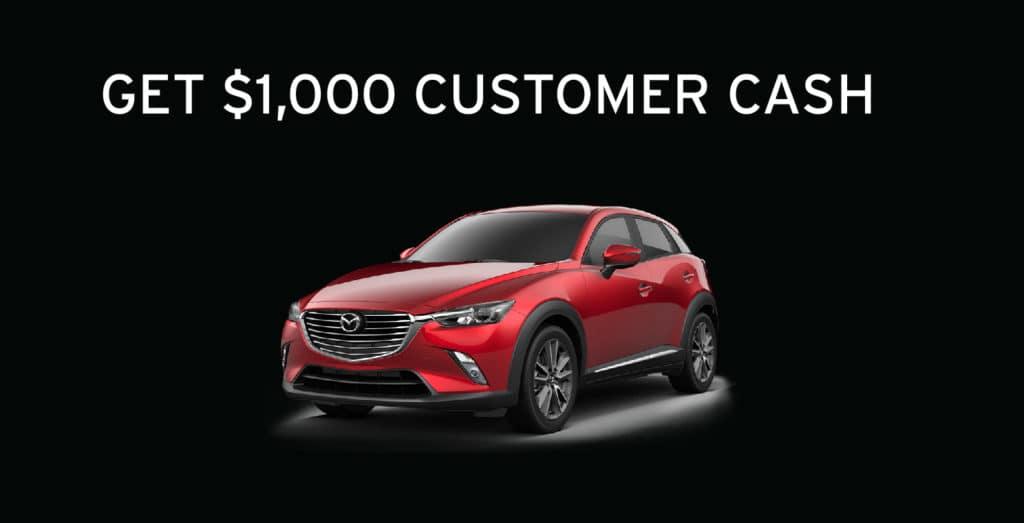 $1,000 Customer Cash