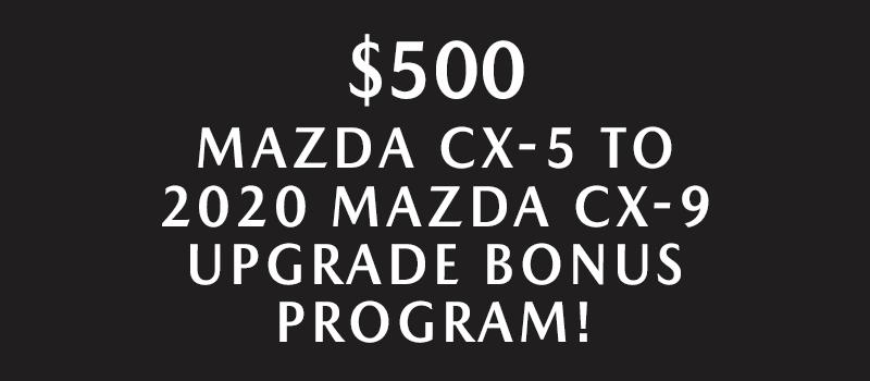 $500 UPGRADE BONUS PROGRAM!