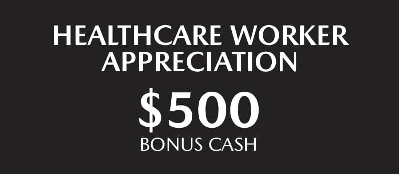 $500 Bonus Cash for Healthcare Workers