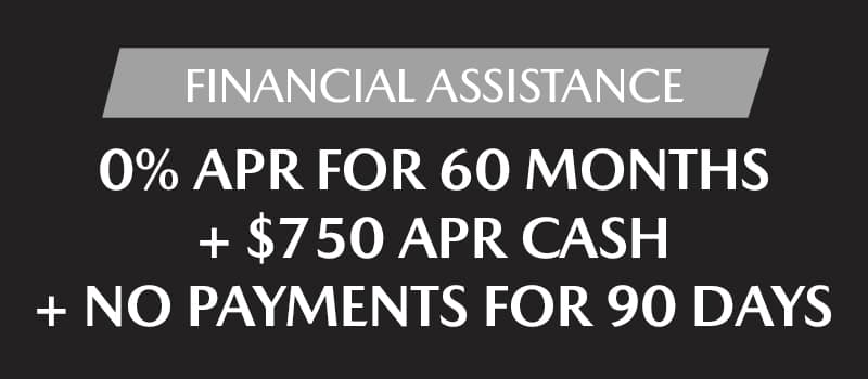 Financial Assistance for Added Peace of Mind