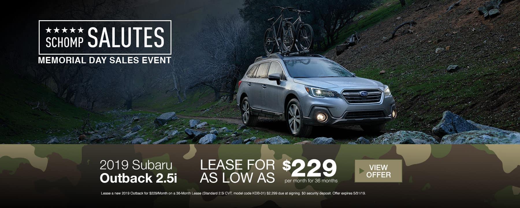 Subaru 100 000 mile service