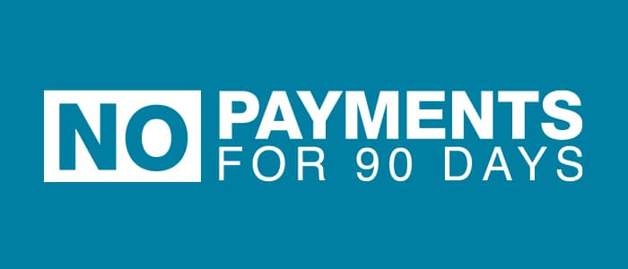 90 Day Payment Deferment