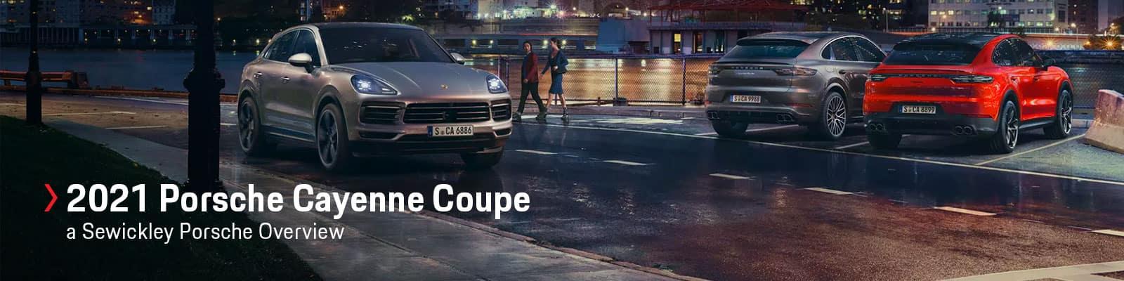 2021 Porsche Cayenne Coupe Model Overview at Sewickley Porsche