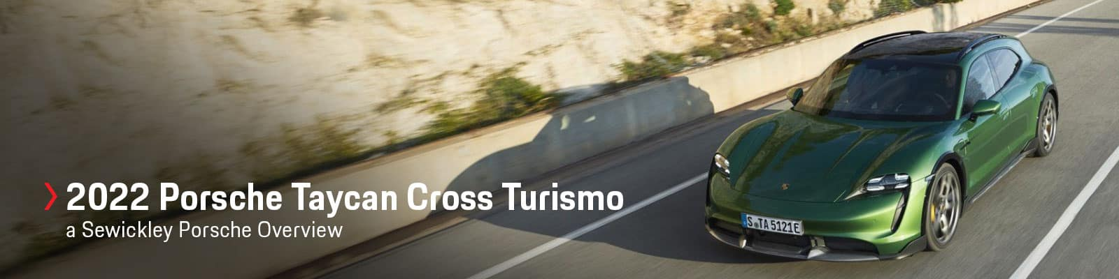 2022 Porsche Taycan Cross Turismo Model Review