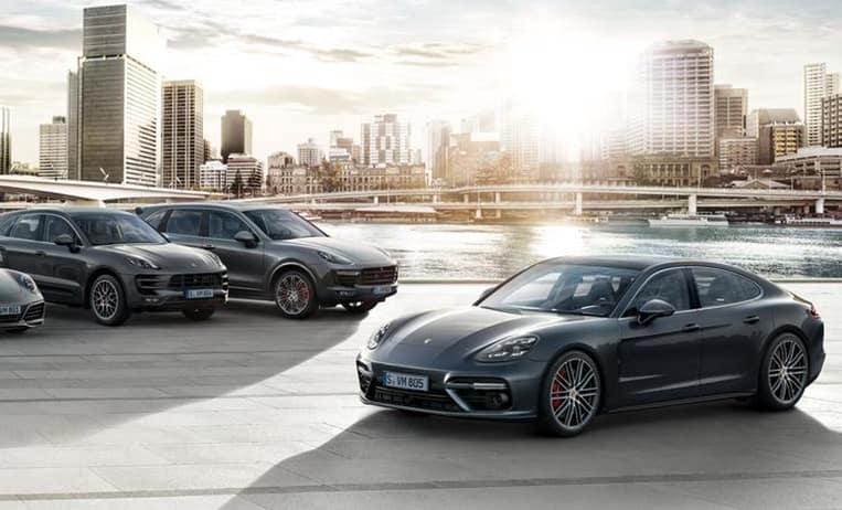 2018 Porsche Model Lineup
