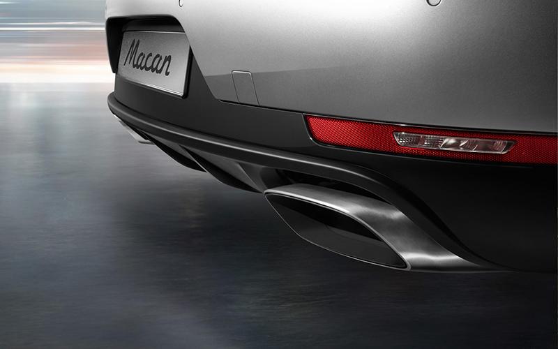 2018 Porsche Macan Sport Edition Sport Exhaust