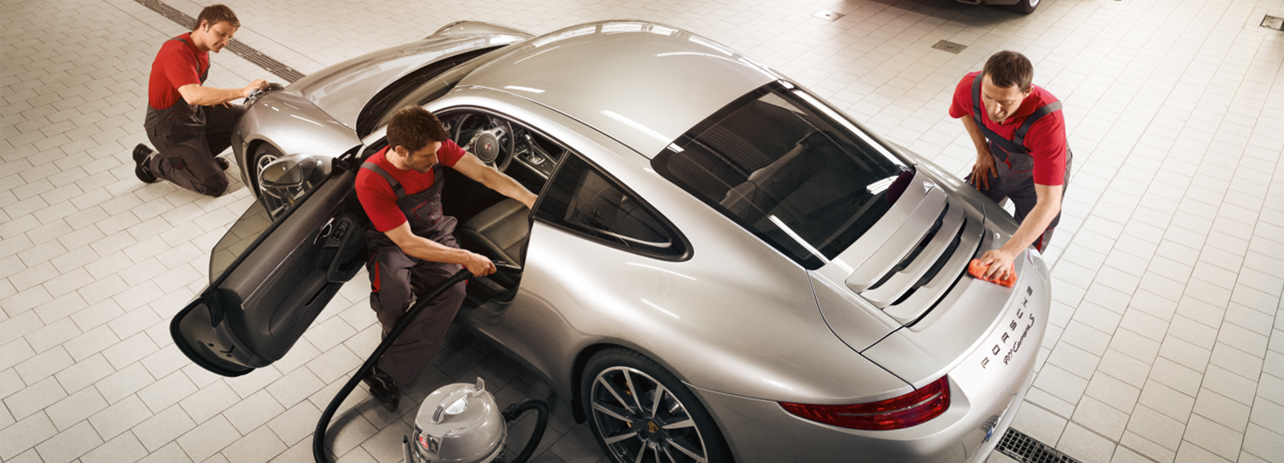 Porsche Service, Parts, and Accessories