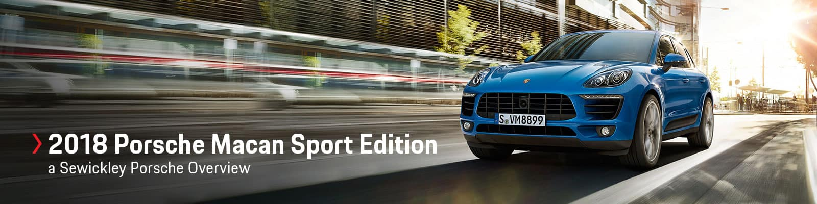 2018 Porsche Macan Sport Edition Model Overview at Sewickley Porsche