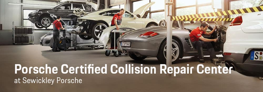 Porsche Certified Collision Repair Center