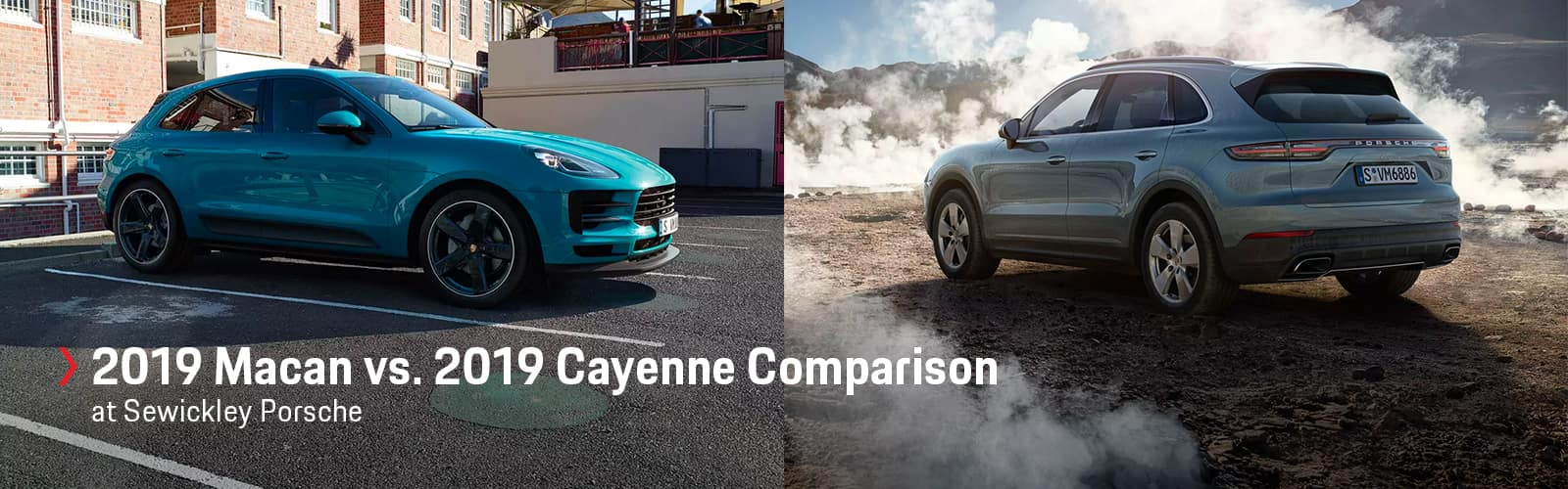 2019 Porsche Macan vs. 2019 Porsche Cayenne at Sewickley Porsche