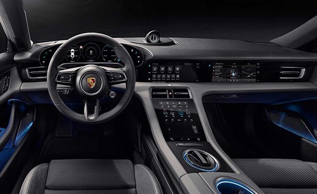 Porsche Taycan Elegant Interior Design