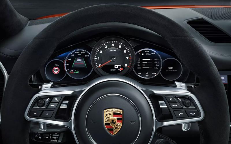 Porsche Cayenne Coupe Technology