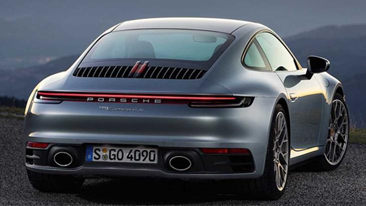 Porsche 911 992 Rear Styling