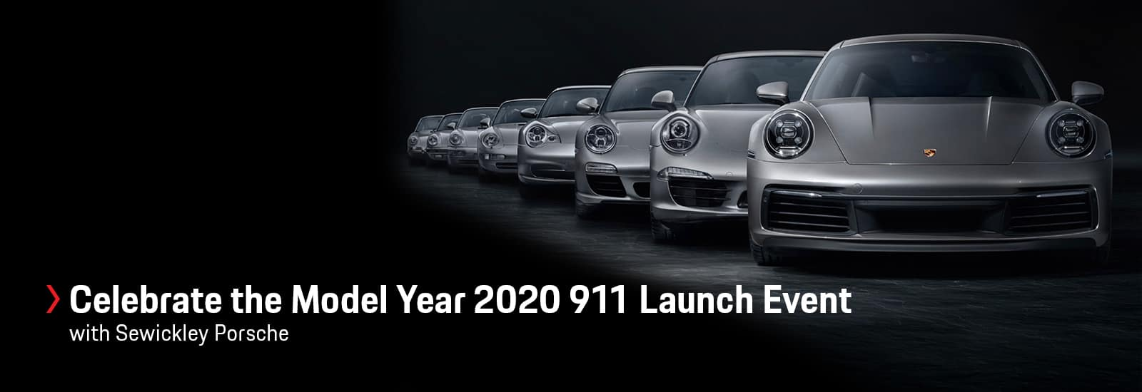 Celebrate at the Model Year 2020 911 Lauch Event with Sewickley Porsche