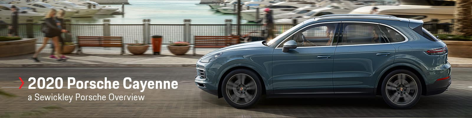 The 2020 Porsche Cayenne at Sewickley Porsche