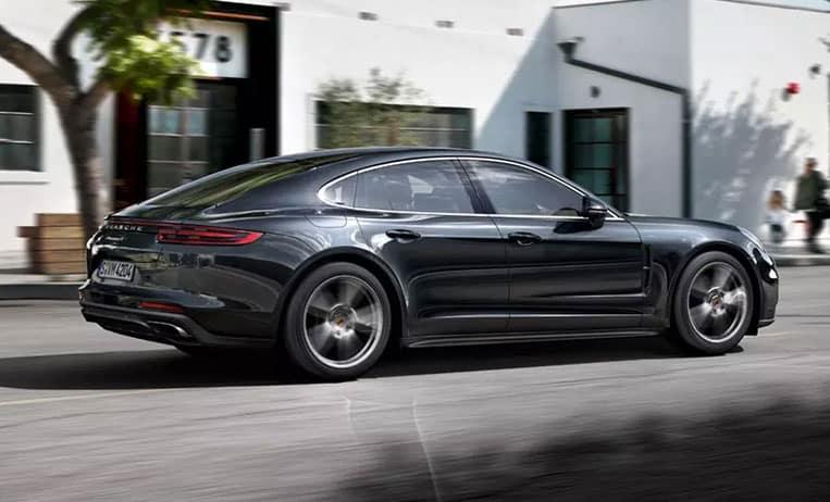 2020 Porsche Panamera Black