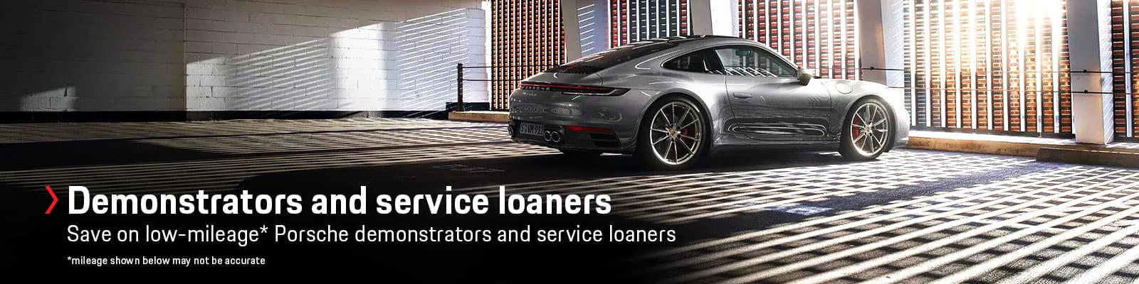 Sewickley Porsche Demonstrator For Sale