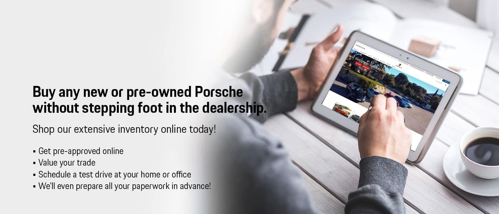 Purchase Porsche Online
