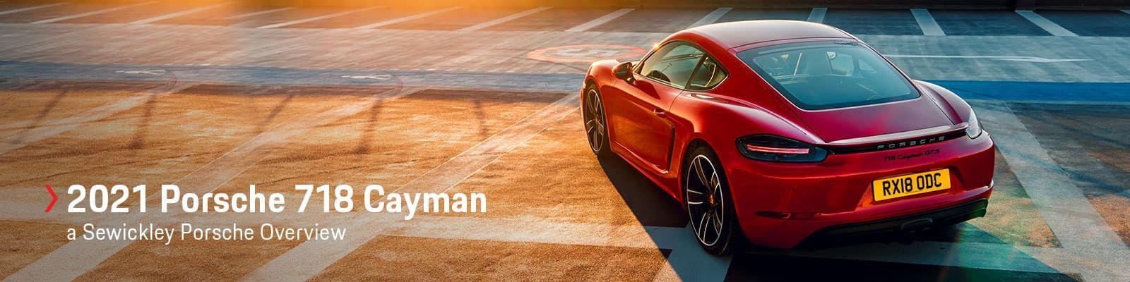 2021 Porsche 718 Cayman Model Overview at Sewickley Porsche