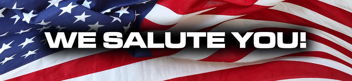 We Salute You at Shively Motors