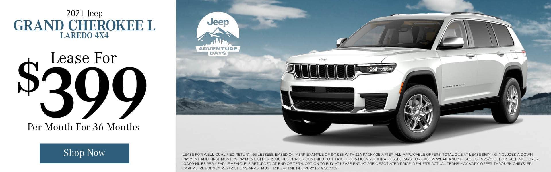 2021 Jeep Grand Cherokee L Laredo 4x4