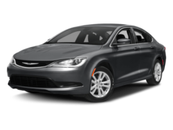 2017 Chrysler 200 Angled