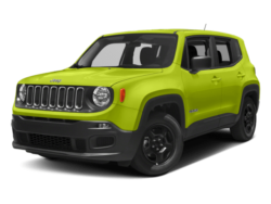 2018 Jeep Renegade Angled