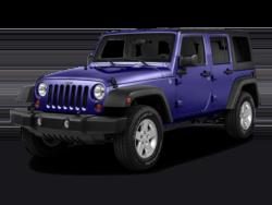 2018 Jeep Wrangler 4-Door Angled