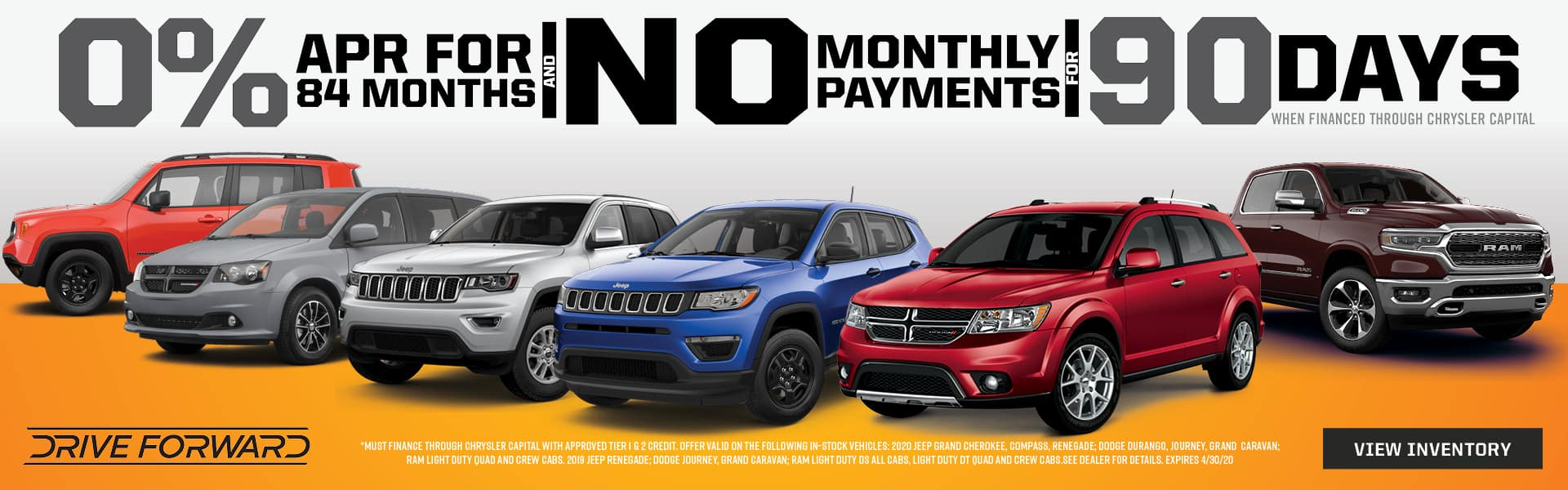 0% Financing for 84 months at Shively Motors of Shippensburg