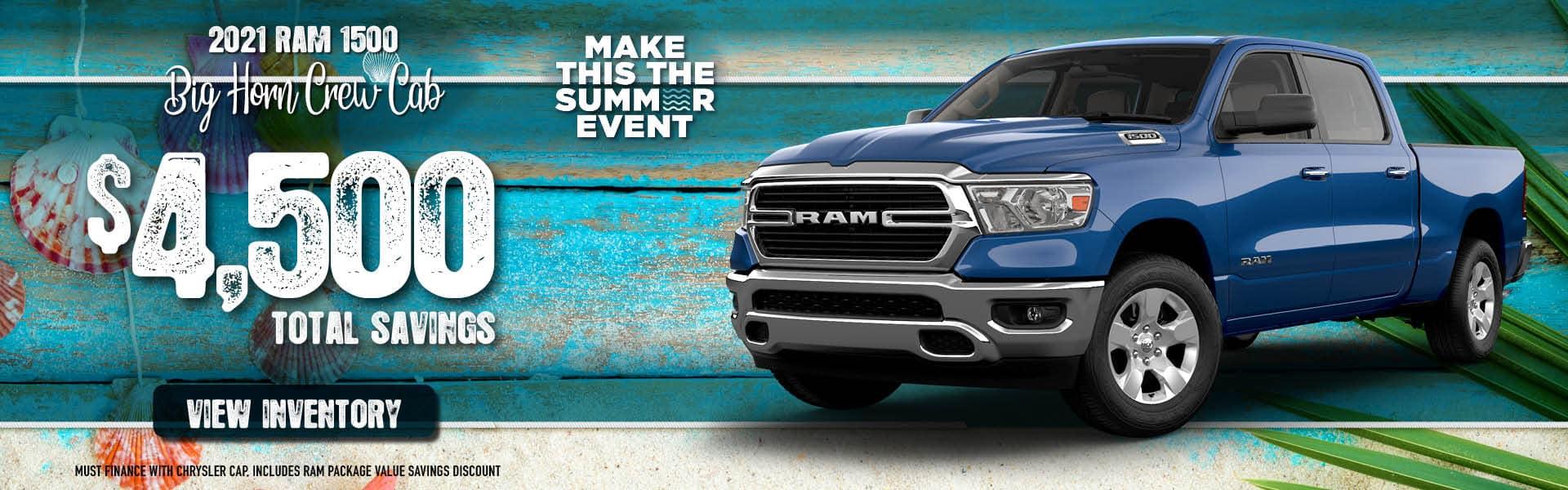 2021 RAM 1500 Big Horn