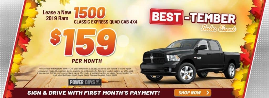 New 2019 Ram 1500 Classic Express Quad Cab 4x4