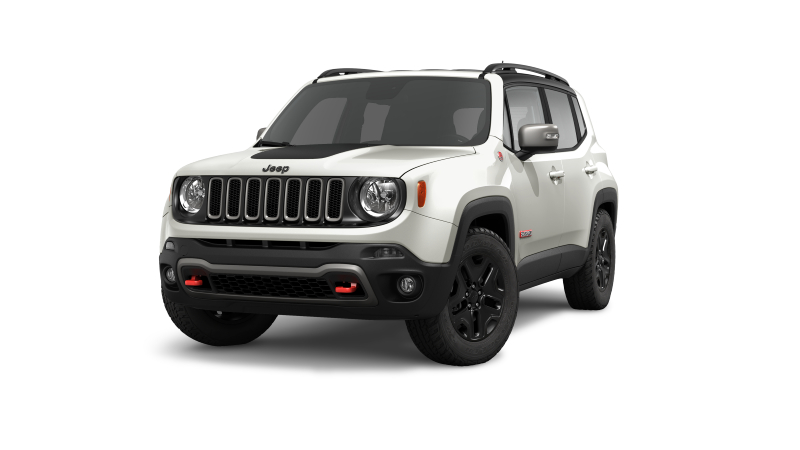 2018 Jeep Renegade Glacier White