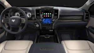 Ram 1500 Classic vs Chevy Silverado Interior