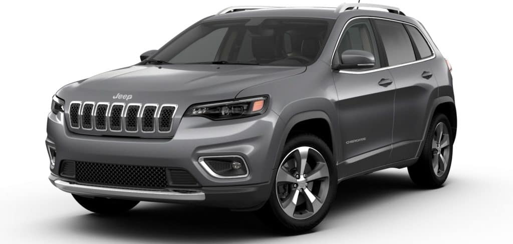 Jeep Cherokee Limited Billet Silver