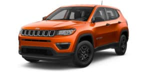 2019 Orange Jeep Compass