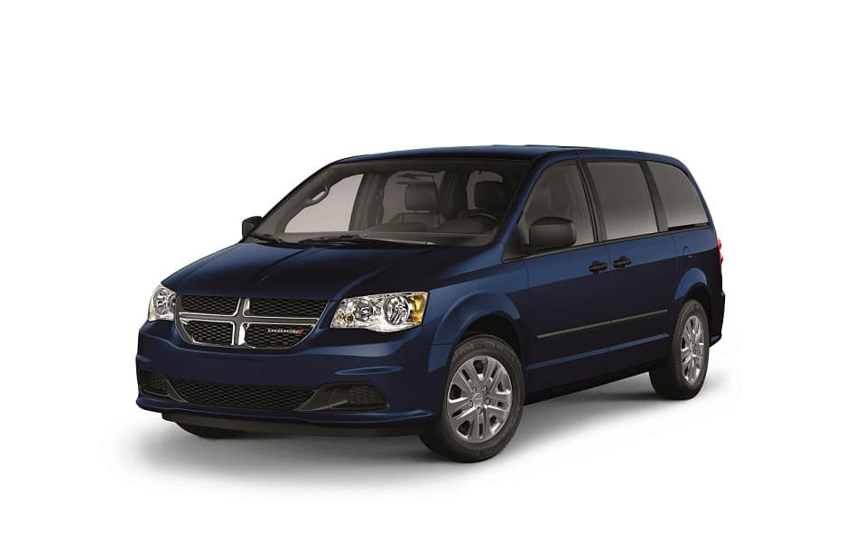 Dodge Grand Caravan CVP Jazz Blue Pearl