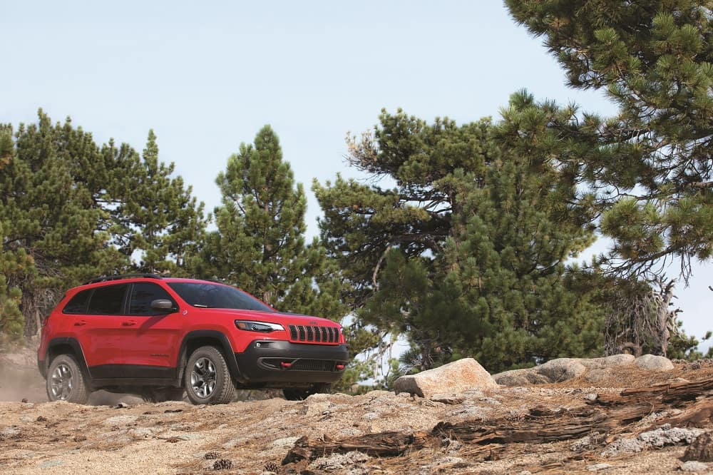 Jeep Cherokee Off-Road Capability