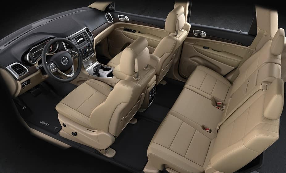 Jeep Grand Cherokee Passenger Space