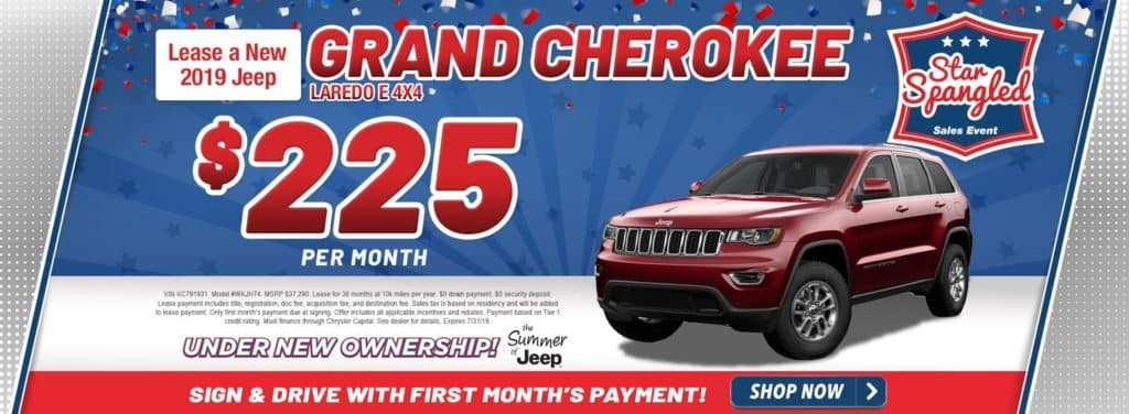 New 2019 Jeep Grand Cherokee Laredo E 4x4
