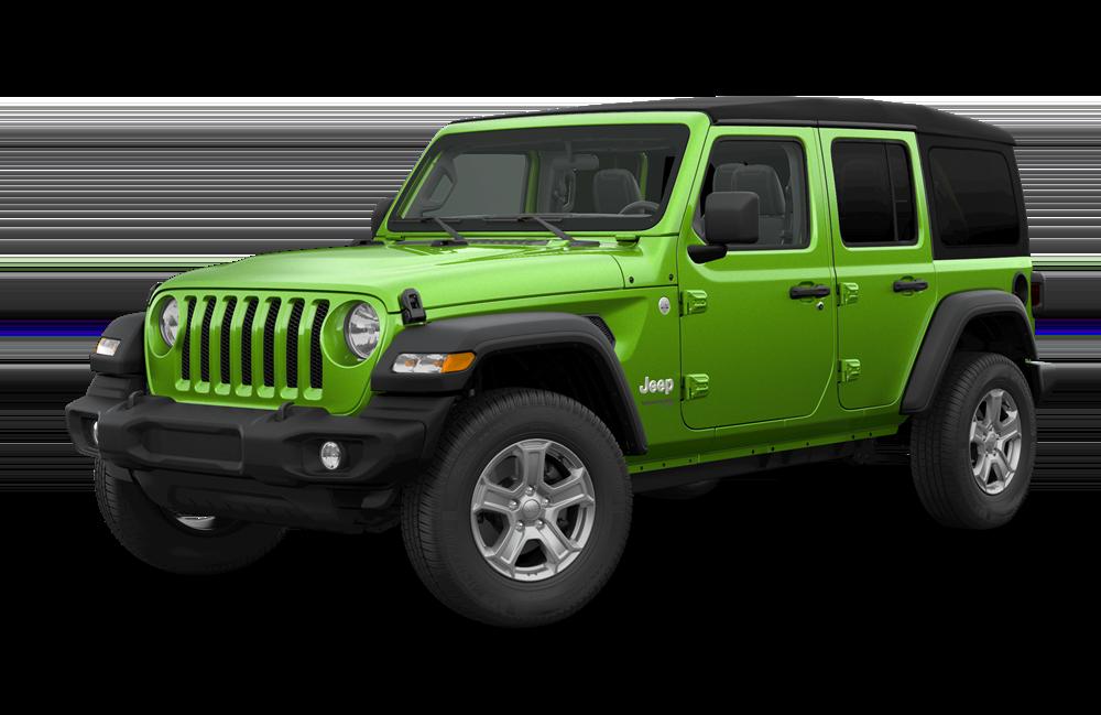 2019 Jeep Wrangler Sport Green