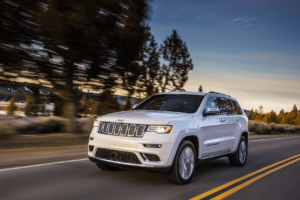 Exploring Providence RI in a New Jeep Grand Cherokee
