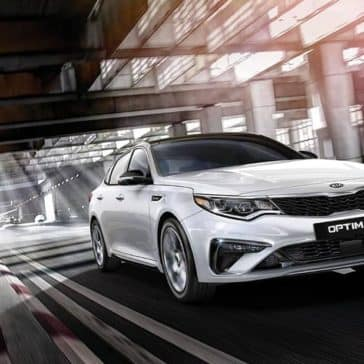 2019 Kia Optima White